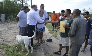Mirolo supervisó operativos integrales en el barrio Salta Prolongación