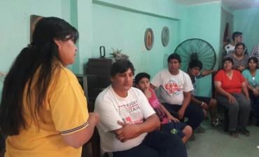 La comuna realiza una importante capacitación en los barrios sobre educación vial