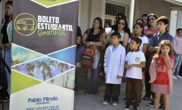 Tránsito inició la entrega de troqueles a los beneficiarios del Boleto Estudiantil Gratuito
