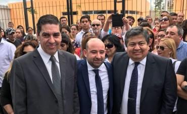 En un multitudinario acto el intendente Pablo Mirolo inauguró la Escuela Primaria Municipal