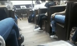 Alumna de la UBA interrumpió clase y escrachó a profesor por acoso