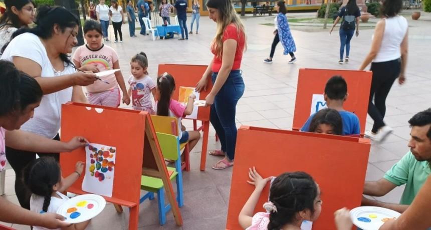 Se realizó con éxito el 1° Festival Solidario Contra el Cáncer Infantil en la Plaza Belgrano