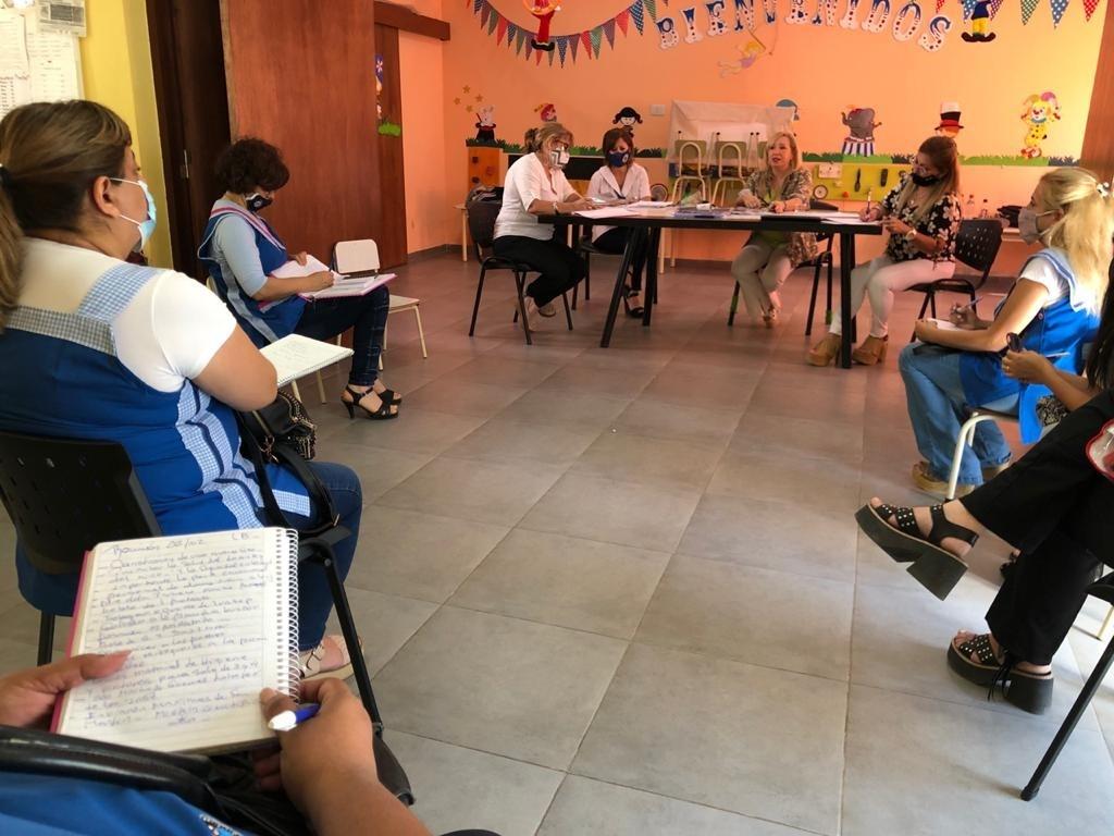 Educación entregó los protocolos y los elementos necesarios para el comienzo del Ciclo Lectivo 2021
