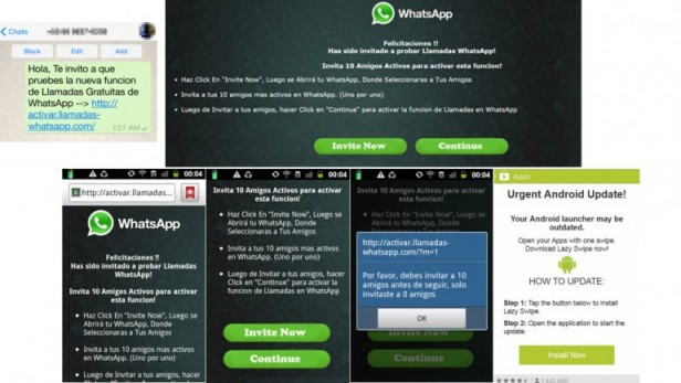 Activar las llamadas de WhatsApp, excusa para ataques cibernéticos
