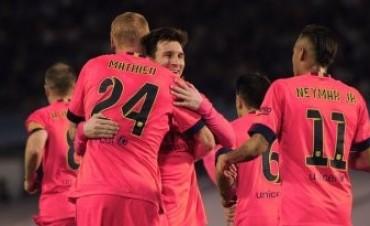 Con Messi de titular, Barcelona venció al Celta y mantiene la ventaja sobre Real Madrid