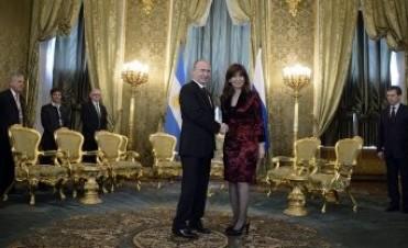 Cristina Kirchner se reunió con Putin