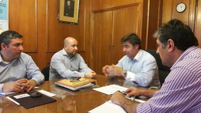 Mirolo realizó gestiones ante la Nación para conseguir obras y mejorar la atención al vecino