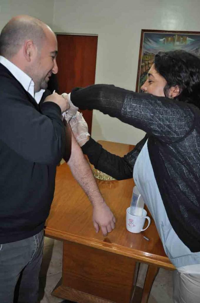 La Municipalidad de La Banda inicia la campaña de vacunación gratuita contra la gripe