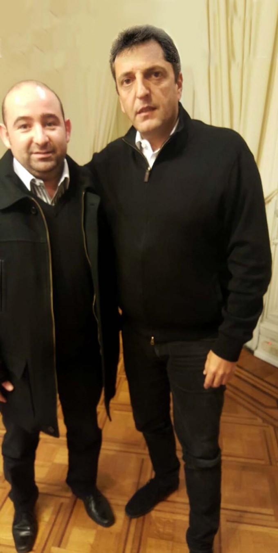 Mirolo y Massa analizaron la situación del país y diseñaron proyectos conjuntos