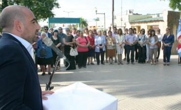 El municipio recordó a los combatientes y caídos en la guerra de Malvinas