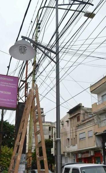 Etapa final del plan de reconvención lumínica sobre calle España