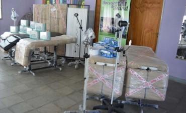La Municipalidad de La Banda entregó insumos a la Dirección de Salud
