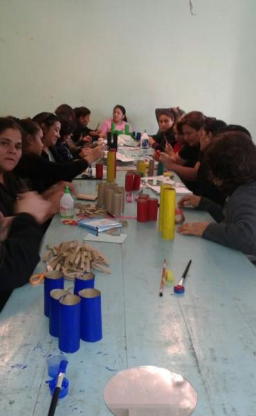 Importante concurrencia en los talleres de reciclado organizado por la comuna