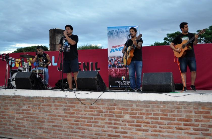 Se realizó el primer Patio Cultural Juvenil en la Plaza de los Niños ante gran cantidad de público