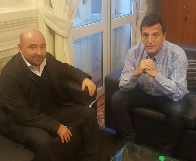 Massa y Mirolo se reunieron para delinear objetivos políticos a seguir