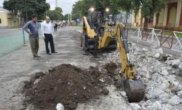 Continúa la ejecución de obras en alumbrado público en varios barrios de la ciudad