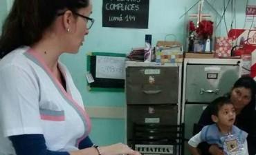 Salud municipal dictará talleres sobre Papanicolau y Reanimación Cardiopulmonar en los barrios Avenida y 1° de Mayo