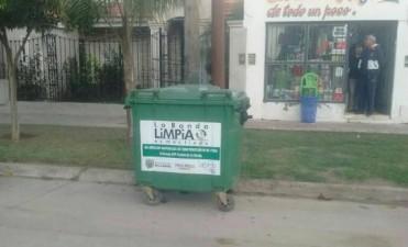 """Avanza la campaña """"La Banda limpia es más linda"""" con más contenedores para los barrios"""