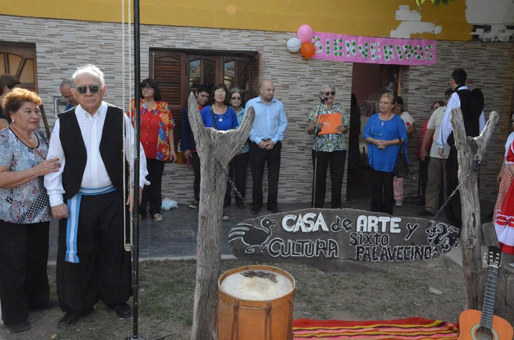 Mirolo participó de los festejos por el 10º aniversario de la Casa de Arte y Cultura