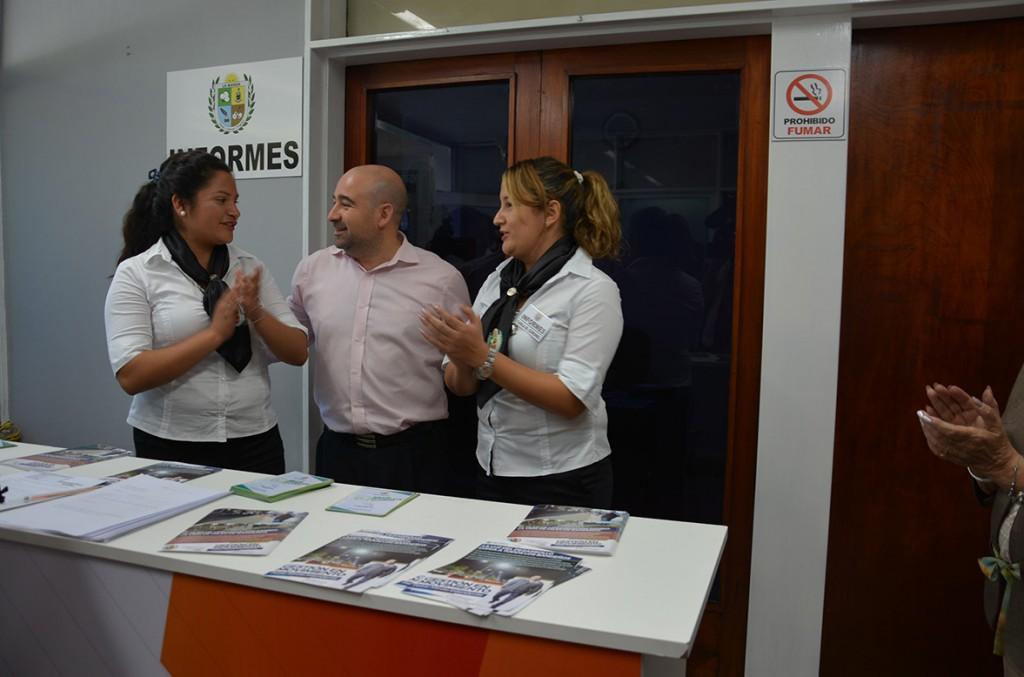 Habilitan un nuevo sector de recepción e informes dentro del palacio municipal
