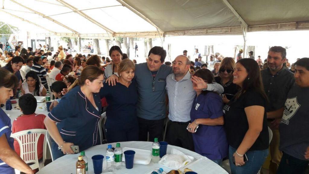 El intendente Mirolo agasajó a los municipales con una fiesta anticipada por el Día del Trabajador