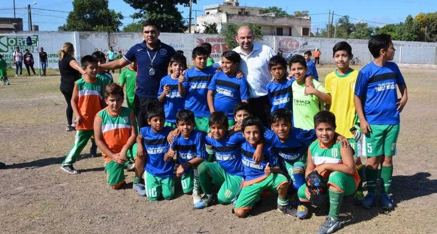 Cientos de chicos participaron del Torneo de Fútbol de Semana Santa