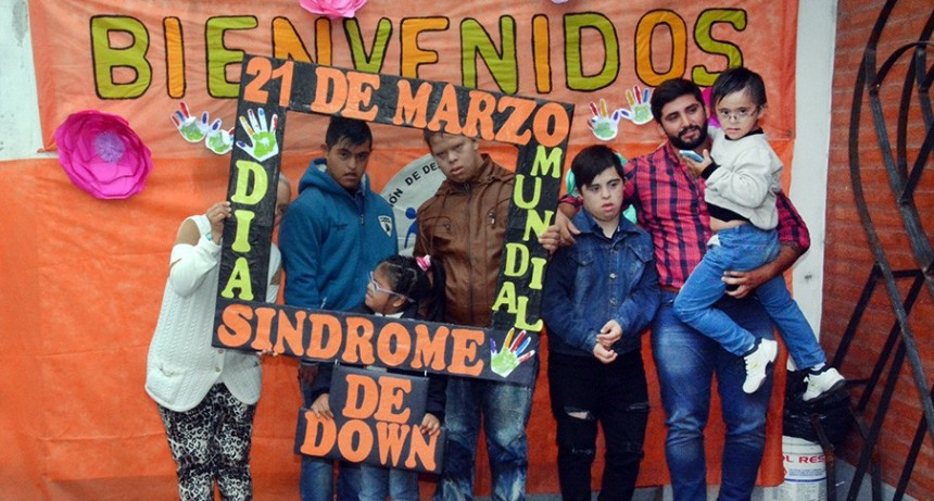 """El municipio realizó una actividad de concientización en el """"Día Mundial del Síndrome de Down"""""""