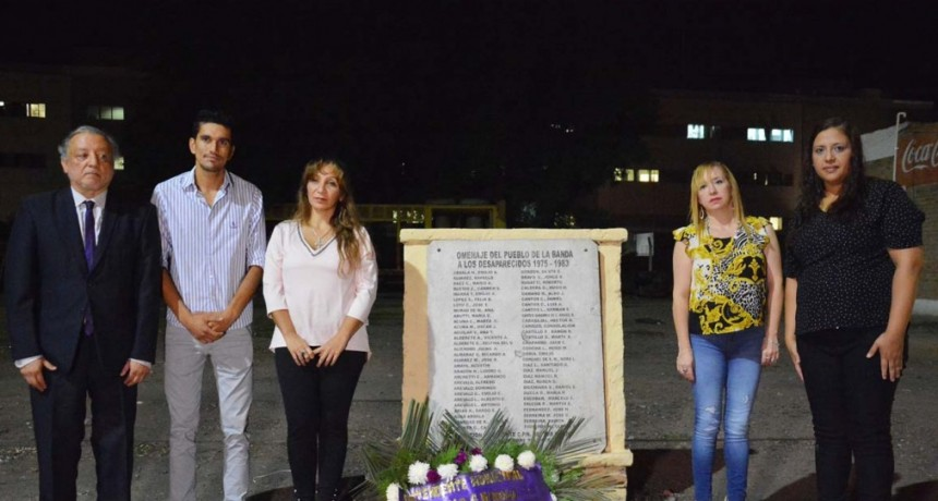 La Banda conmemoró el Día de la Memoria, la Verdad y la Justicia con un importante acto