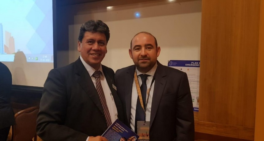 El intendente Mirolo participó del Congreso Latinoamericano de Autoridades Locales