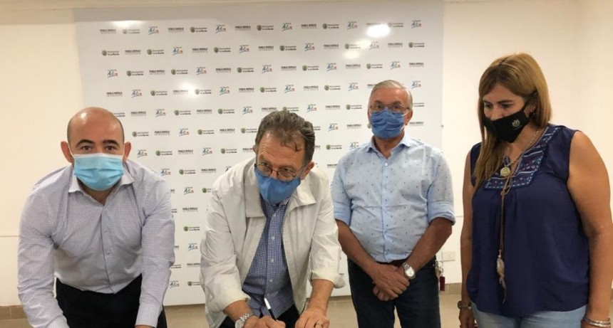 EL MUNICIPIO BANDEÑO Y EL BANCO DE ALIMENTOS RATIFICARON SU COMPROMISO CON LOS SECTORES MÁS VULNERABLES