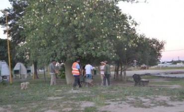 Brigada de limpieza realizó trabajos en los barrios La Fraternidad y Ramos Taboada