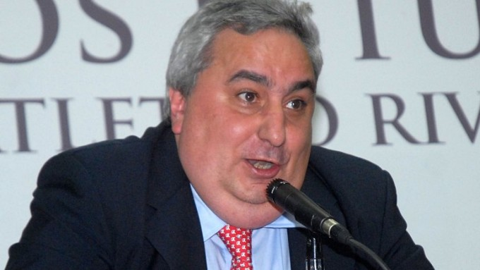 Apareció José María Aguilar y habló del descenso de River