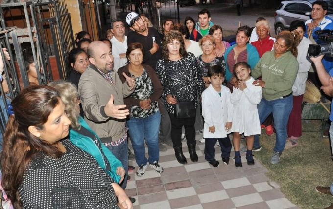 El intendente supervisó un operativo integral en el barrio Juan Perón