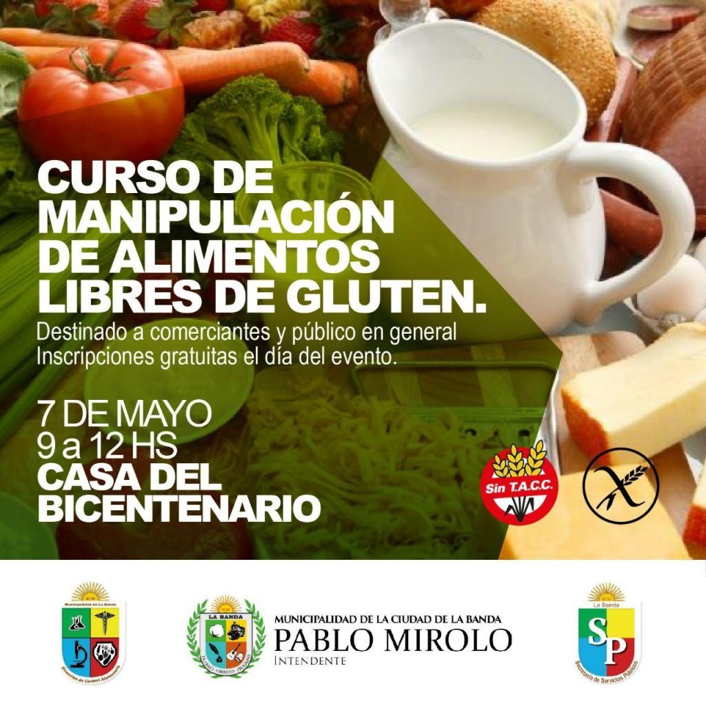 Dictarán un curso a comerciantes sobre la manipulación de alimentos sin gluten