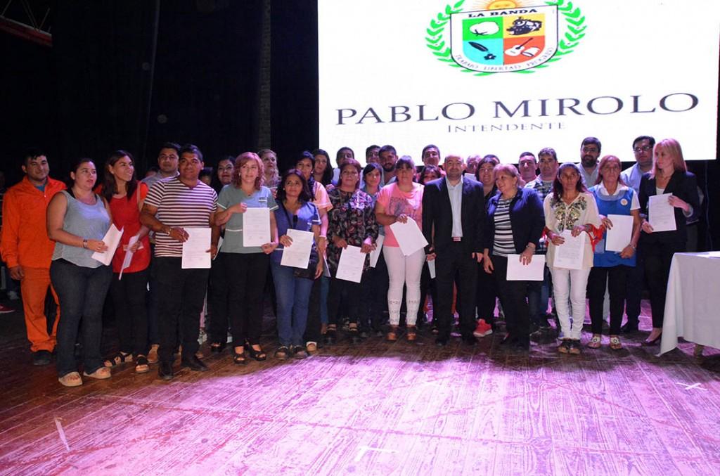 Mirolo  destacó la importancia de generar fuentes de trabajo desde el estado para combatir el desempleo