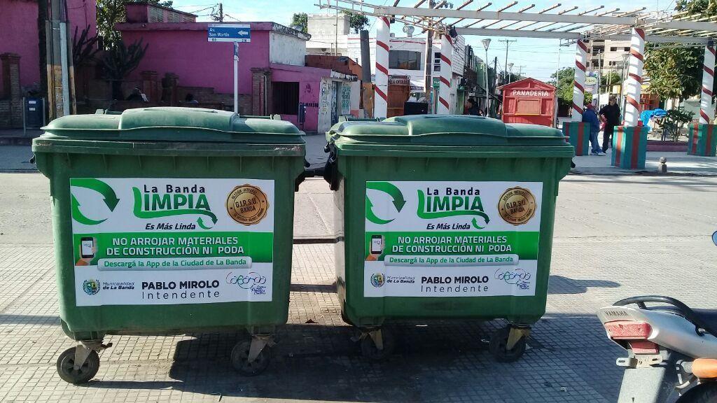 La municipalidad reforzó el trabajo de higiene en toda la ciudad
