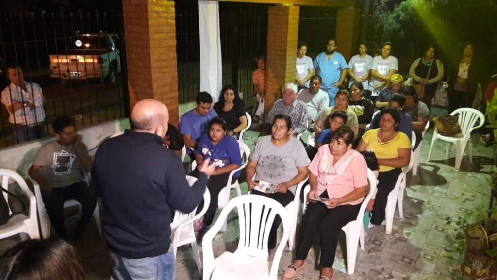 """Mirolo: """"El apoyo de la gente en los barrios nos alienta a seguir trabajando"""""""