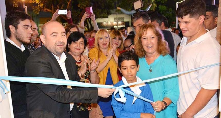 """Con un gran marco de público Mirolo inauguró la ampliación de la Escuela Municipal de Artes Plásticas """"Juanita Briones"""""""