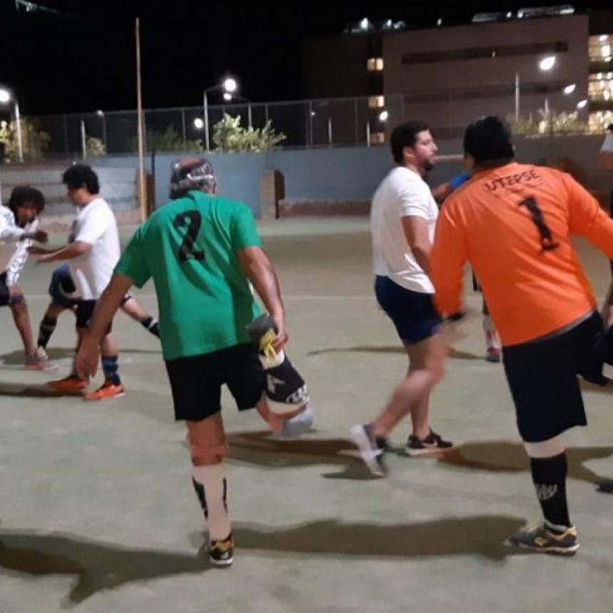 La Banda recibe en el Patinódromo Municipal a equipos de fútbol de ciegos de todo el NOA