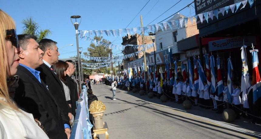 La Banda celebró un nuevo Aniversario de la Revolución de Mayo con un acto protocolar y la tradicional velada de gala