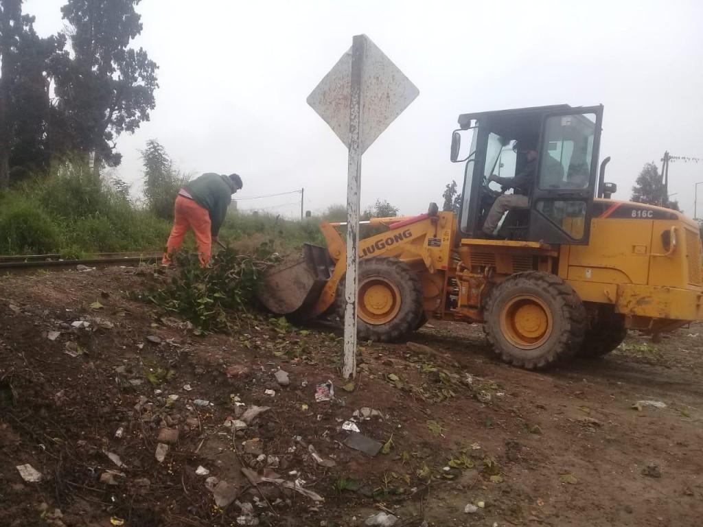 El municipio reforzó los trabajos de higiene en toda la ciudad