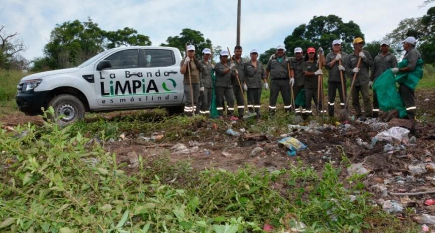 """La campaña """"La Banda limpia"""" se suma al reto mundial de eliminar basurales"""