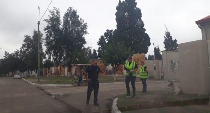El municipio realizó un operativo integral de ordenamiento en el cementerio