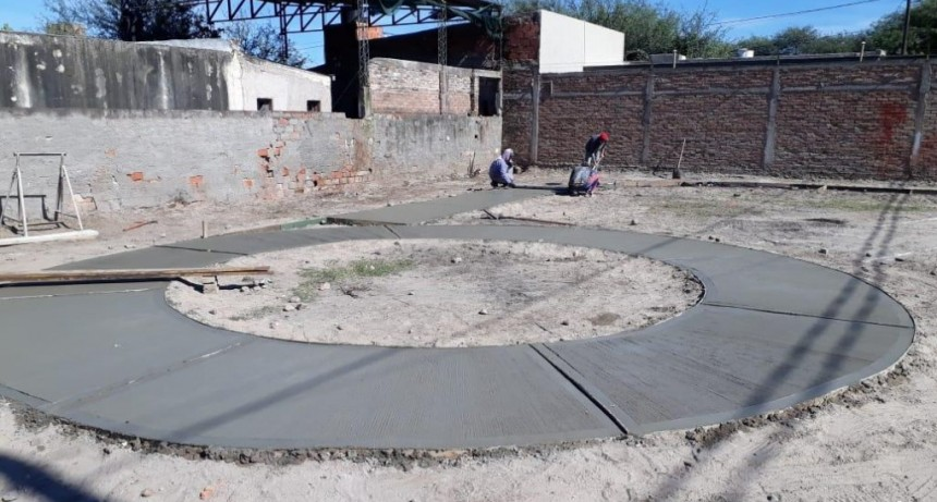Villa Gambeti tendrá una vistosa plaza en un terreno recuperado por el municipio para los vecinos
