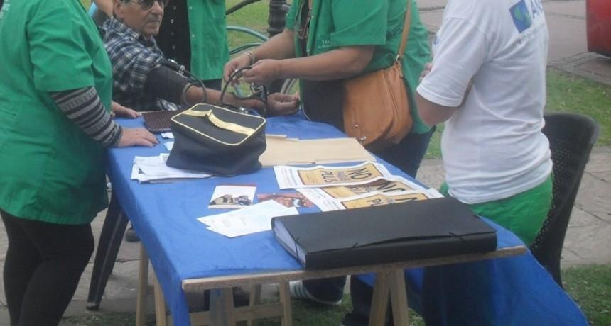 Organizan una campaña de concientización sobre la hipertensión arterial