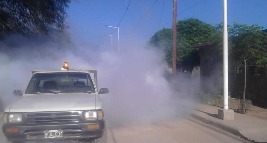 El municipio continúa con los trabajos de fumigación en toda la ciudad