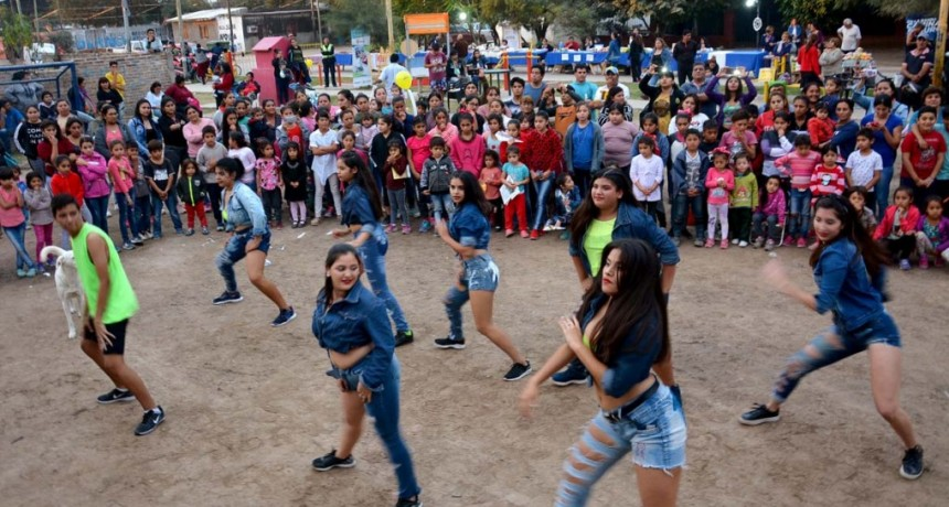Se realizó con éxito la primera edición del Patio Cultural 2019