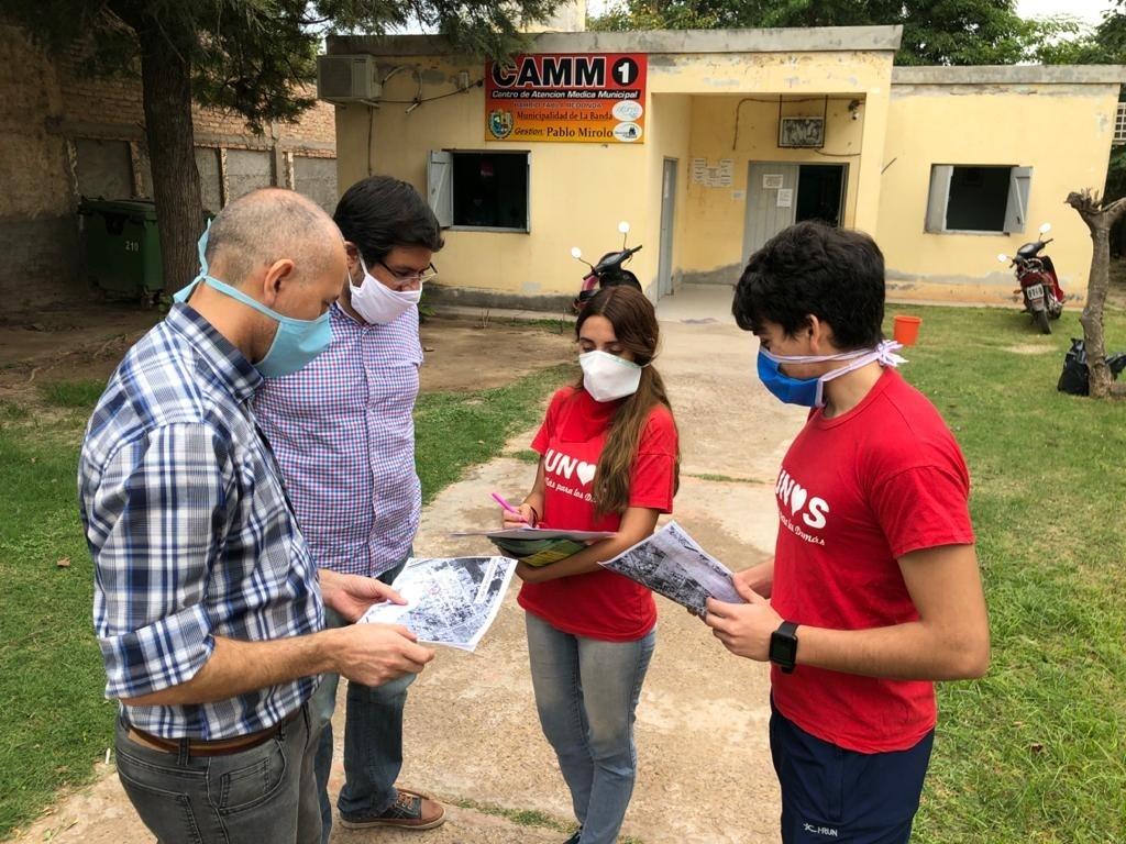 La comuna desplegó la campaña informativa contra el dengue en los barrios Villa Margarita y Tabla Redonda