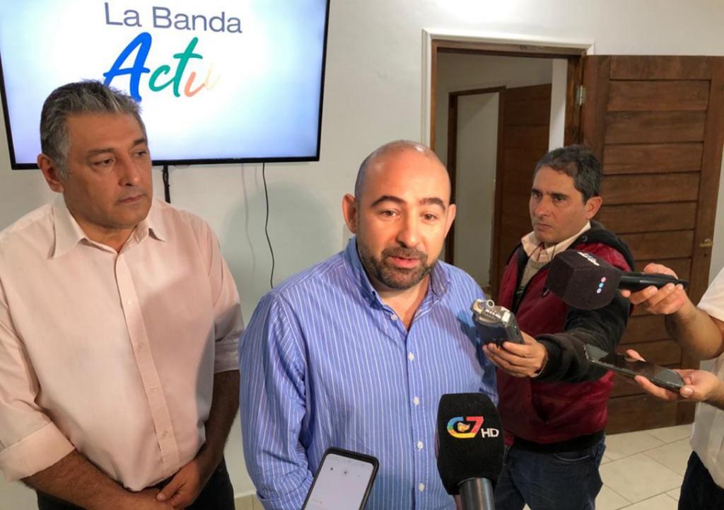 """Mirolo presentó """"La Banda compra en casa"""", un innovador servicio web para reactivar la economía local"""