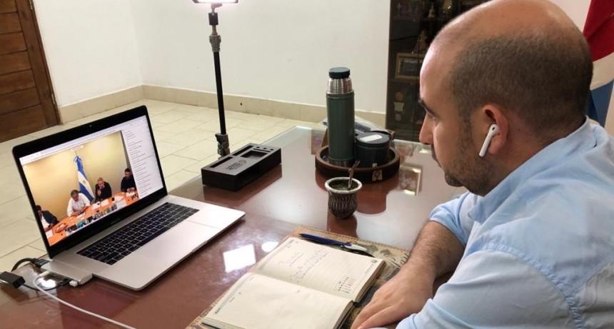 Mirolo participó de una videoconferencia con el presidente Fernández  y mandatarios nacionales por la lucha permanente contra el Dengue y el Covid 19